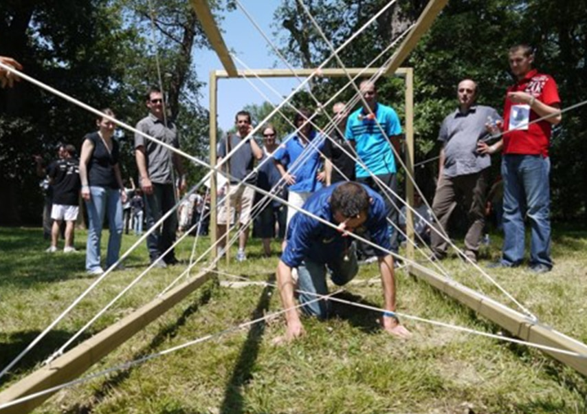 Team building team challenges épreuves