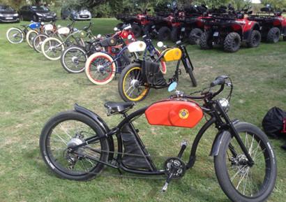 Team building vélo électrique vintage entreprise