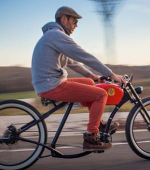 Team building vélo vintage électrique