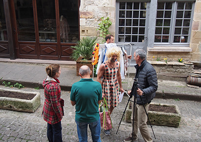 Team building vidéo tournage