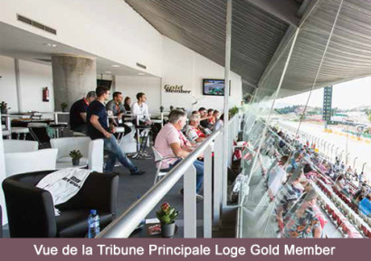 Tribune Principale Loge Gold Member Salon