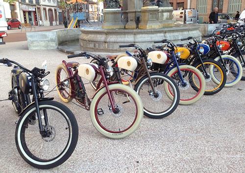 Vélo électrique vintage balade