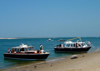 Visite bateau du bassin d Arcachon