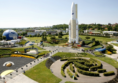 Visite de la citée de l'espace à Toulouse