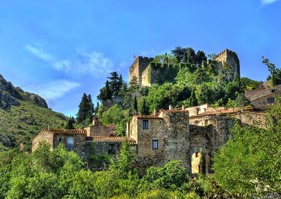 Visite de Castelnou