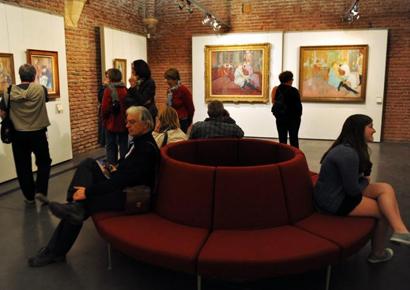 Visite du musee Toulouse Lautrec
