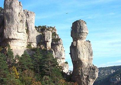 Visite des Gorges en Aveyron