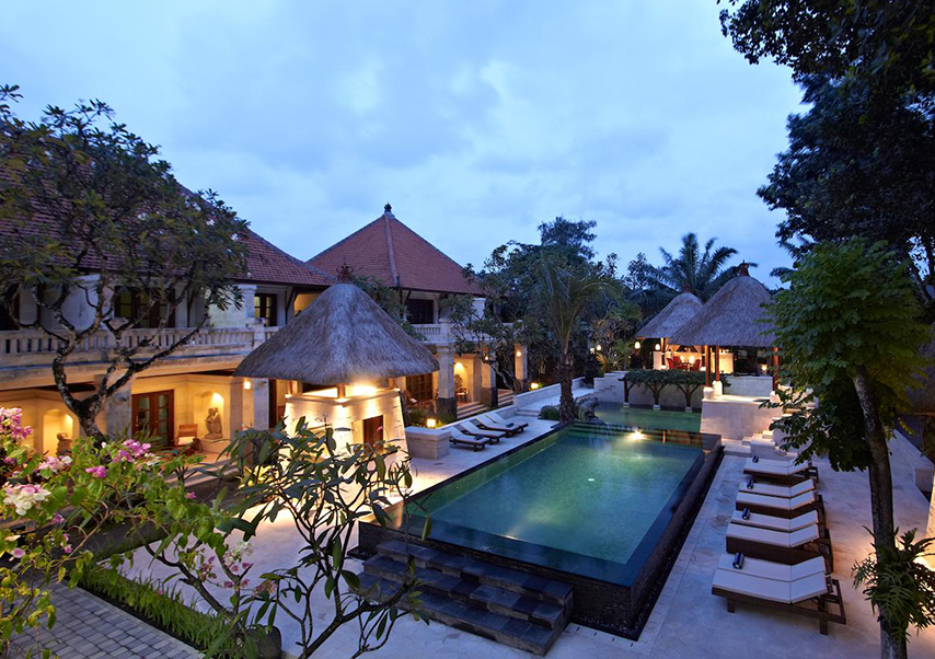 Voyage entreprise Bali luxe