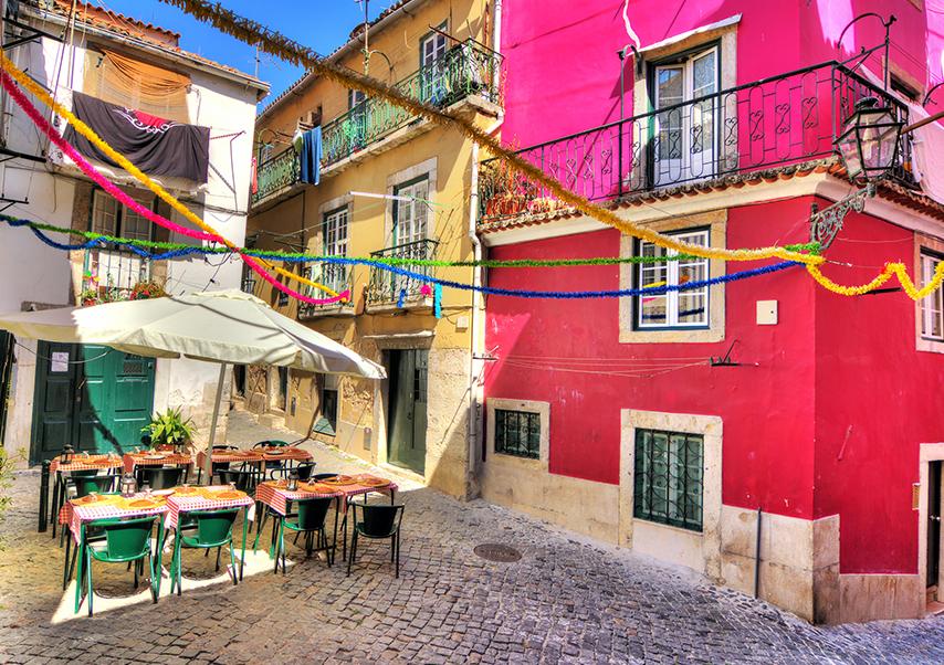 Voyage entreprise Lisbonne quartier
