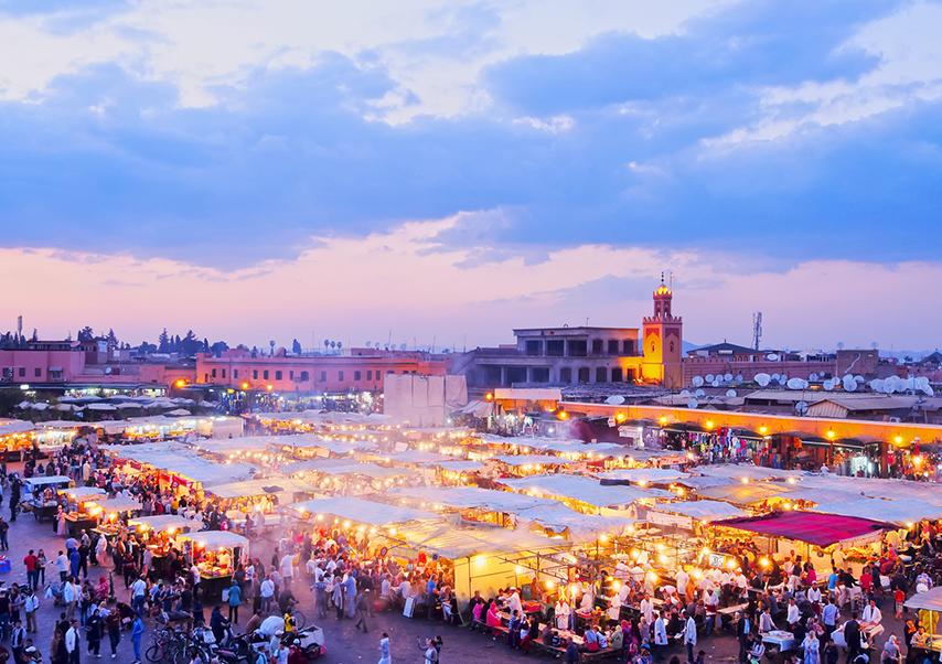 Voyage entreprise Marrakech Jamaa el Fna