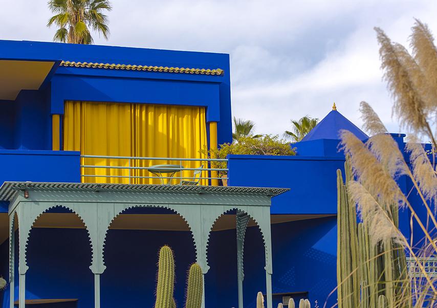 Voyage entreprise Marrakech Majorelle