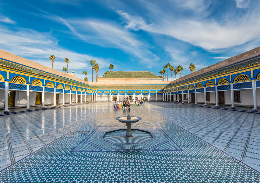 Voyage entreprise Marrakech Palais Bahia