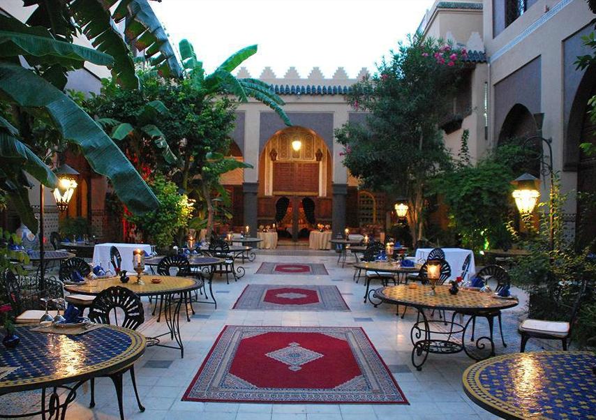 Voyage entreprise Marrakech restaurant