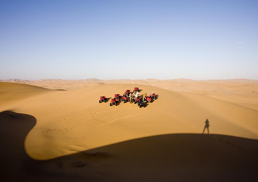 Voyage entreprise Namibie 4x4