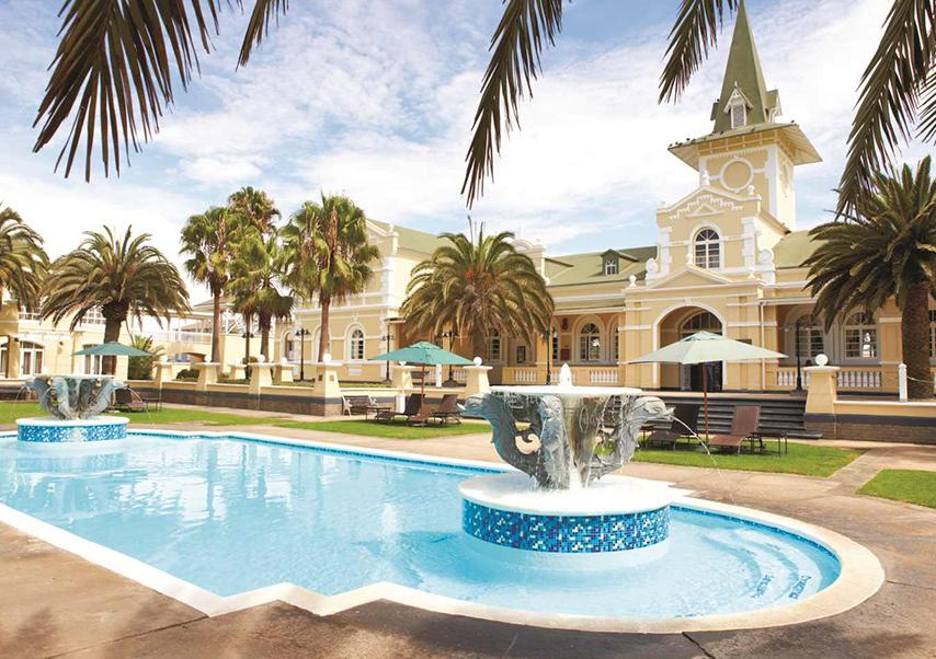 Voyage entreprise Namibie hotel