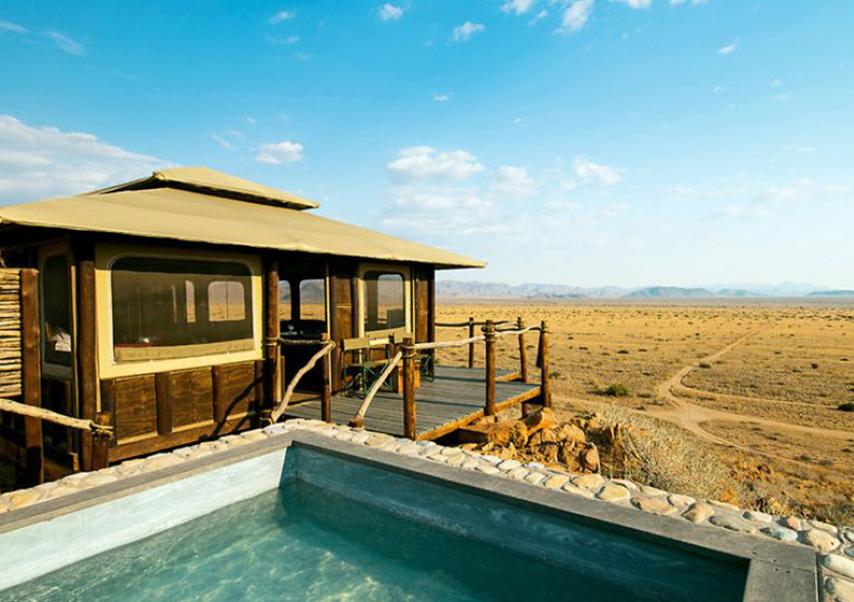 Voyage entreprise Namibie paysage
