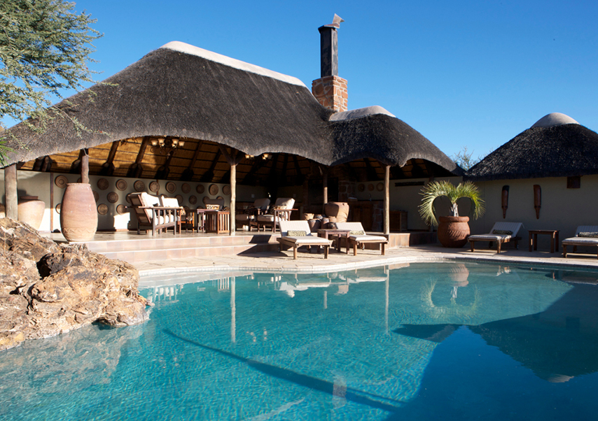 Voyage entreprise Namibie piscine