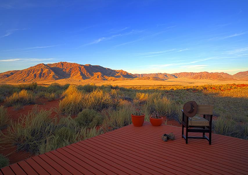 Voyage entreprise Namibie view