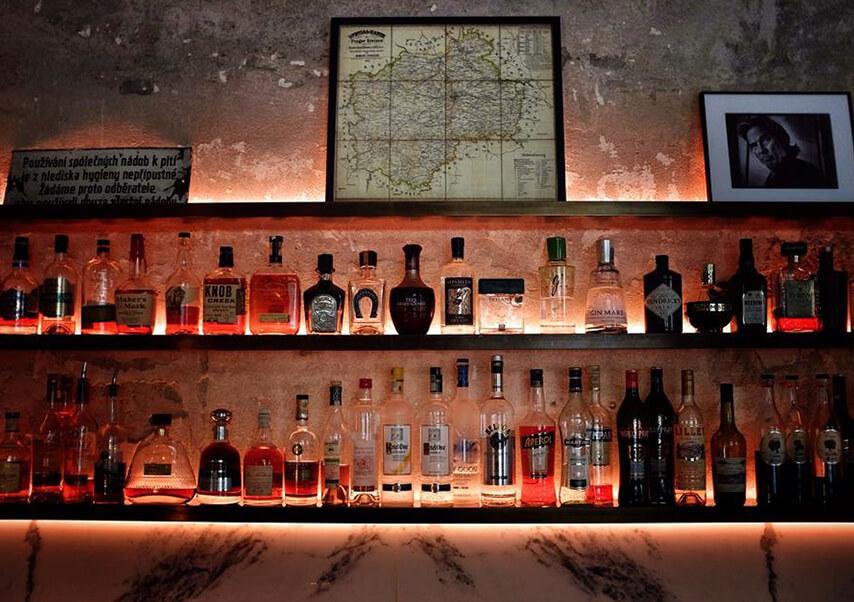 Voyage entreprise Prague bar