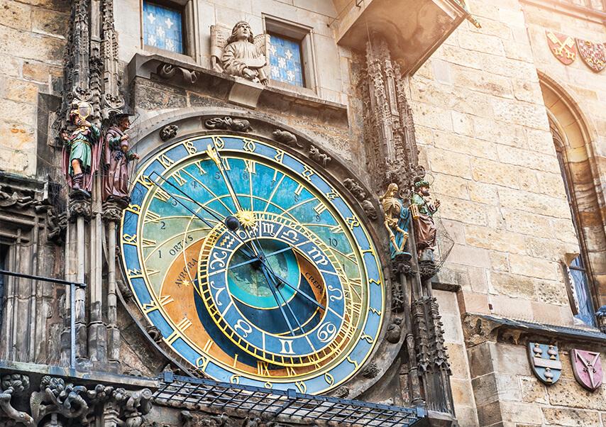 Voyage entreprise Prague horloge1