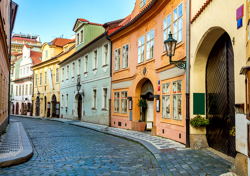 Voyage entreprise Prague ruelles