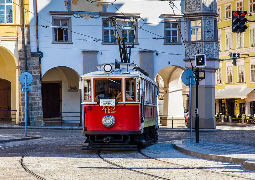 Voyage entreprise Prague tram