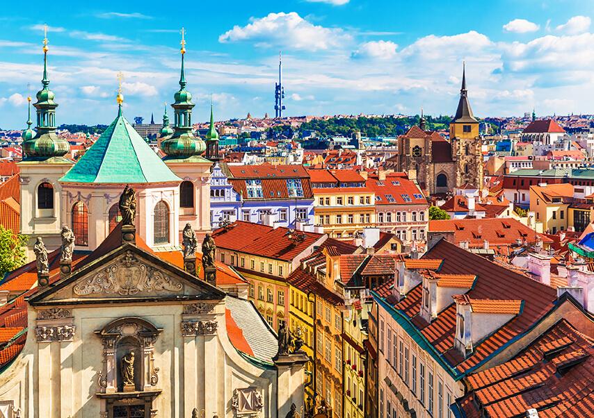 Voyage entreprise Prague vue