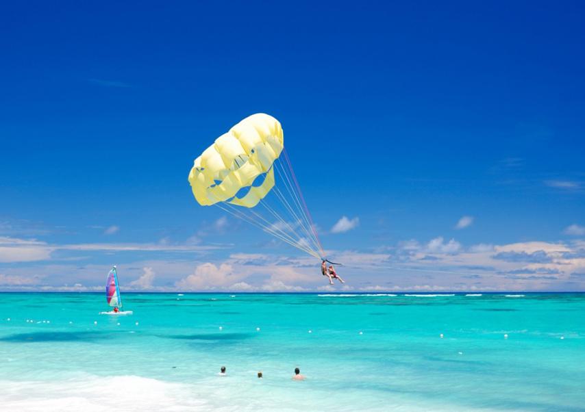 Voyage entreprise République Dominicaine parachute