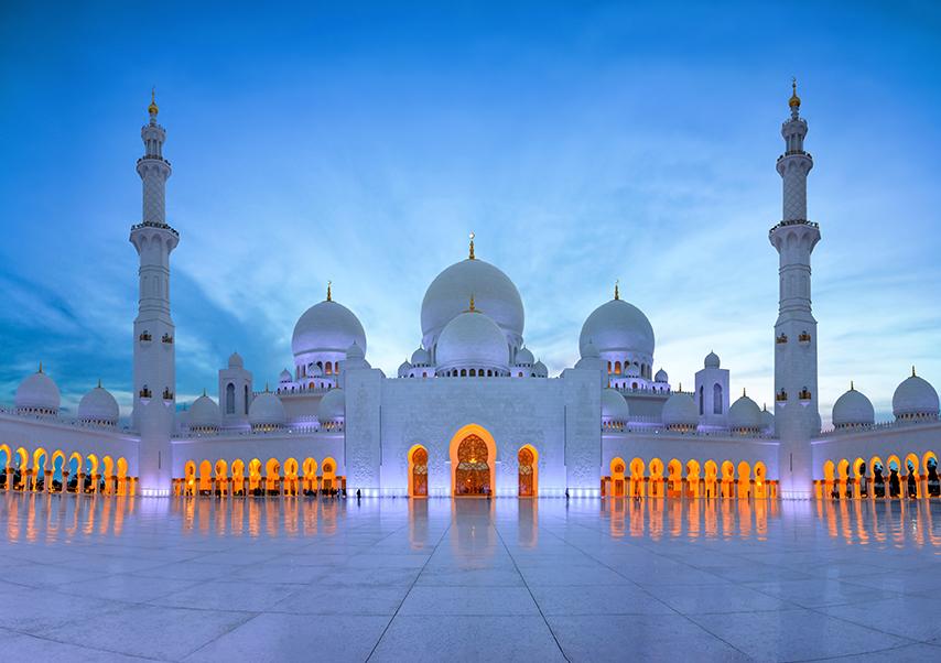 Voyage entreprise dubai mosquée