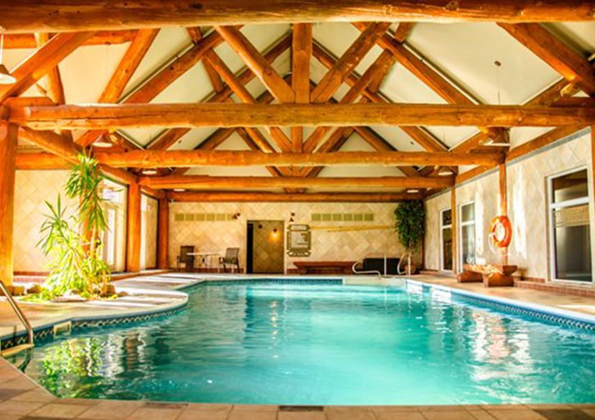 Voyage incentive Canada piscine
