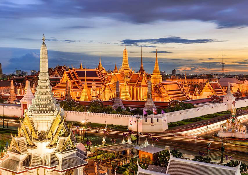 Voyage incentive Thaïlande temple