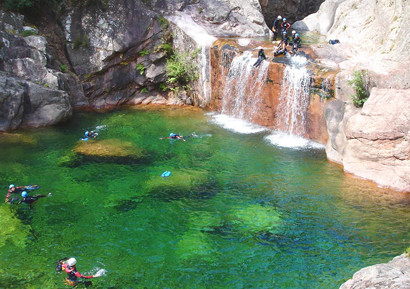 Week end Canyoning dans les Pyrenees