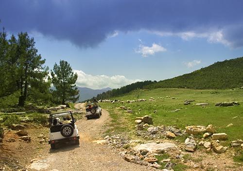 Week-end groupe Pays Basque randonnée 4x4