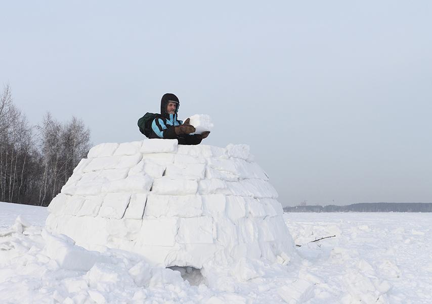activités neige originales igloo