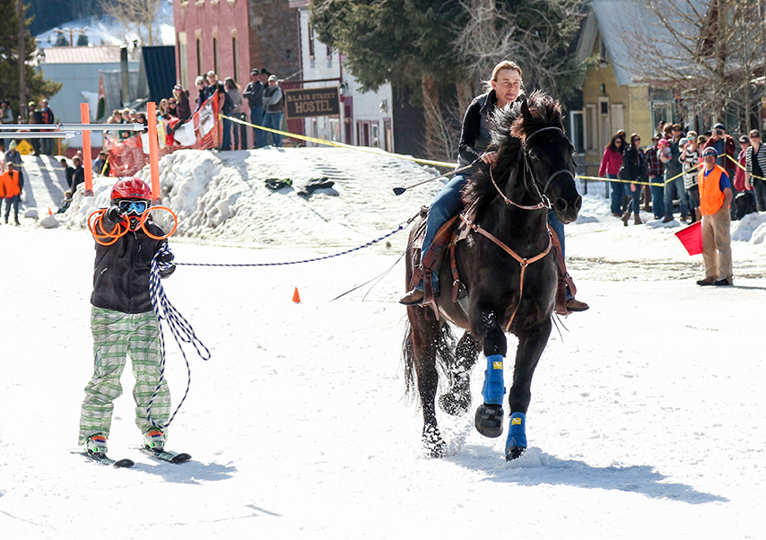 activités neige originales ski joering