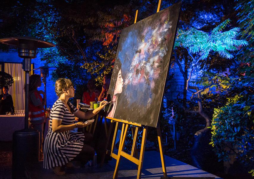 animation artistique soirée entreprise live painting2