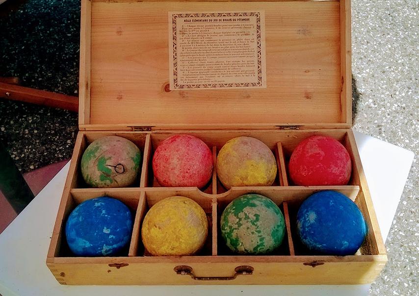 animation pétanque boules
