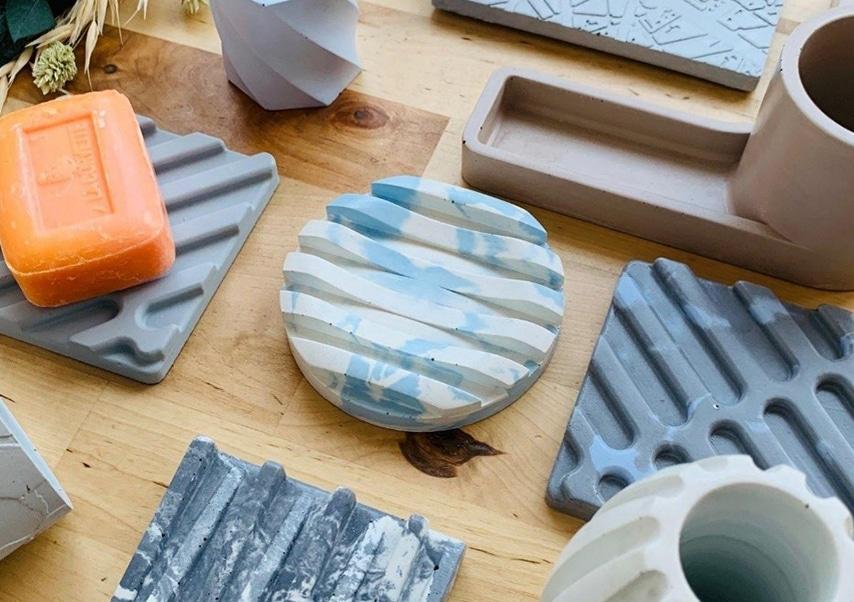 atelier création d'objets visio béton