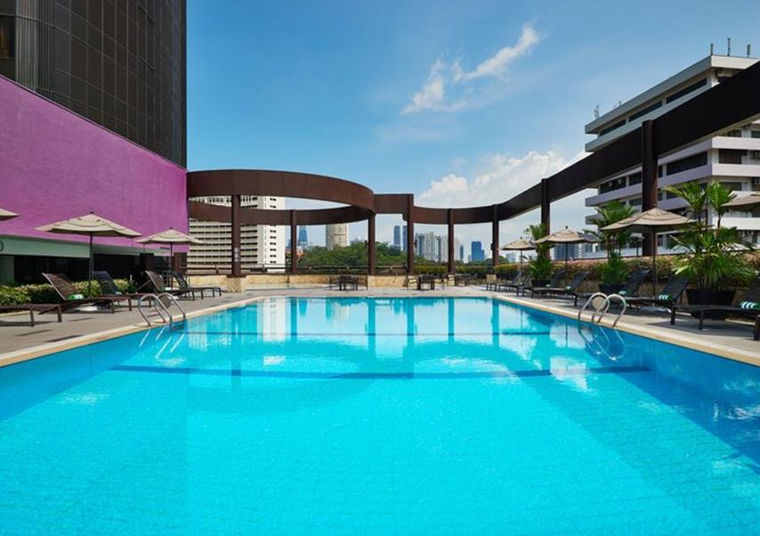 congrès singapour piscine