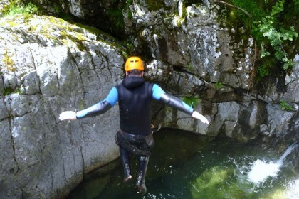 events agency toulouse pyrenees canyoning