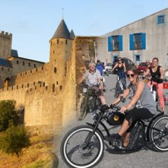 events agency toulouse team building vintage electric bike