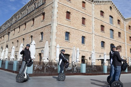 events agency toulouse urban segway rally