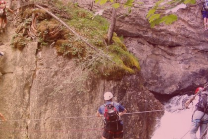 events agency toulouse via ferrata pyrenees