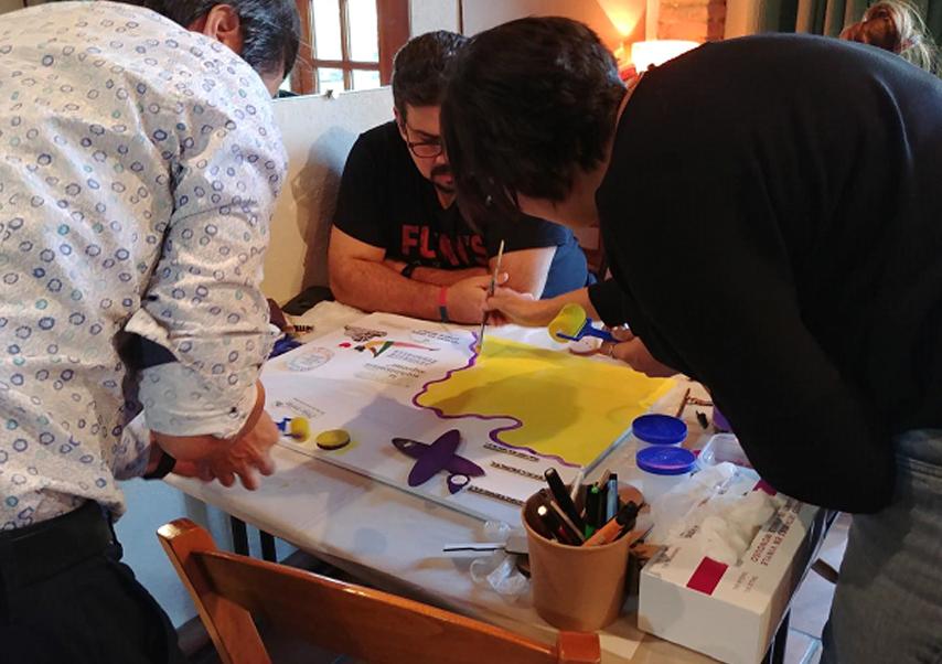 fresque participative créateam