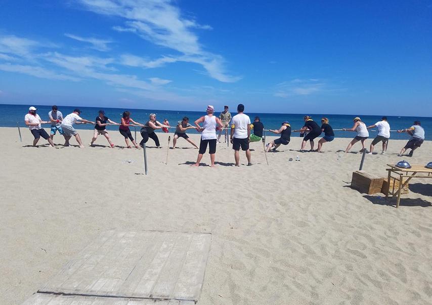 incentive plage activités
