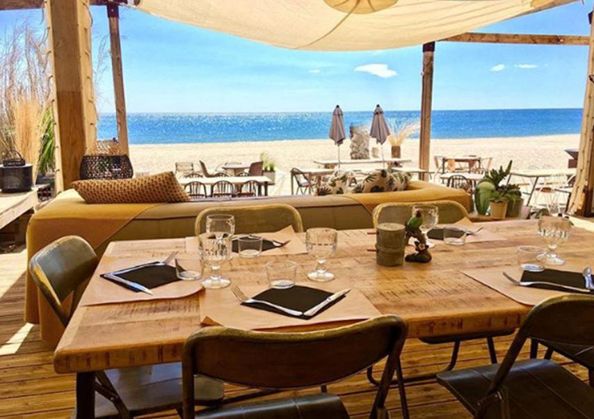 incentive plage restaurant