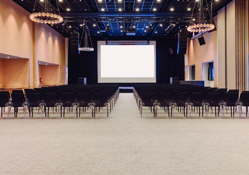 organisation congrès finlande grande salle