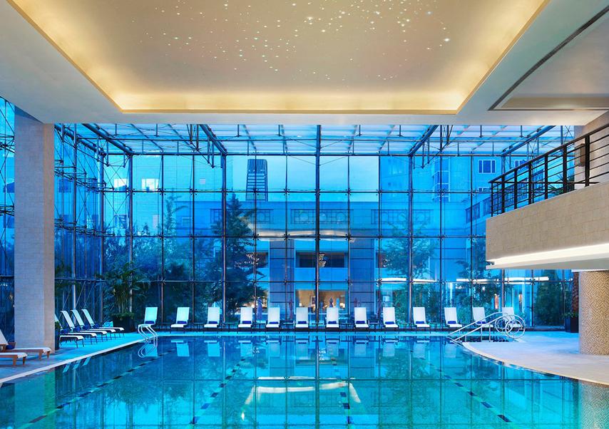 organisation congrès pékin piscine