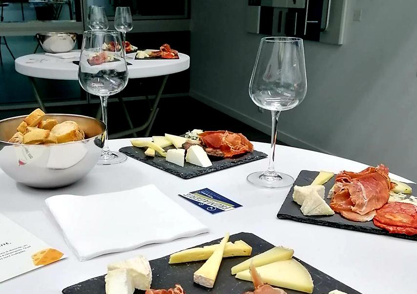 plateau degustation vins et fromages