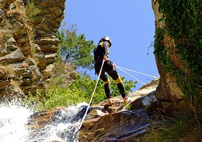 pyrenees canyoning 2